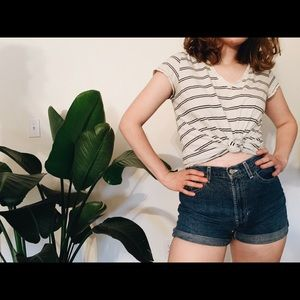 Tops - casual striped tee